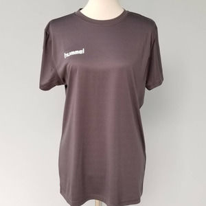 Women's Hummel Short Sleeve Gray T-Shirt M